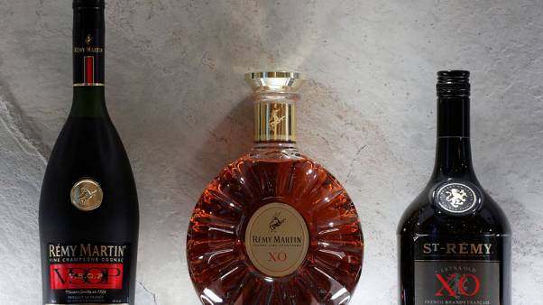 China's thirst for cognac helps Remy third-quarter sales beat forecasts