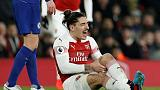 Bellerin out for season with knee injury - reports