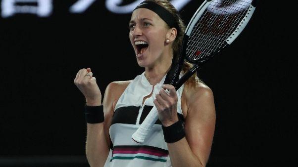 Aus Open,Kvitova e Collins in semifinale