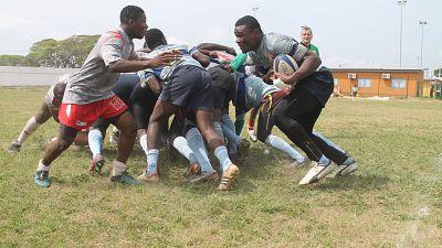 Rugby : Le Rugby Club de Yopougon (RCY) piétine d'entrée le Rugby Club de Divo (RDC), Camara Adama brise le rêve d'Rugby Club de Treichville (ARC)
