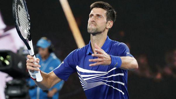 Battling Nishikori faces big test against bugbear Djokovic