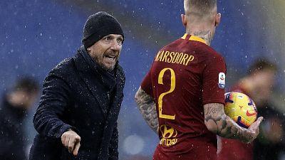 """Roma, Karsdorp """"non voglio più fermarmi"""""""