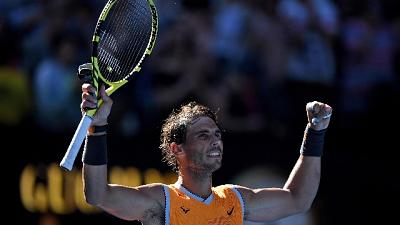 Aus Open, Nadal in semifinale