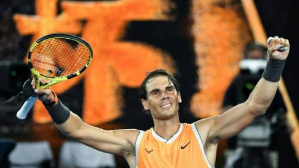 Open d'Australie: Nadal rejoint Tsitsipas en demi-finales