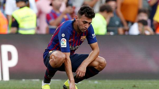 Injured Sevilla striker Munir set to miss Barca cup reunion