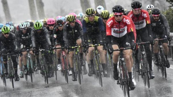 Cyclisme: les premiers contrôles antitramadol à Paris-Nice