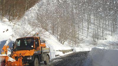 Codice giallo per neve domani in Toscana