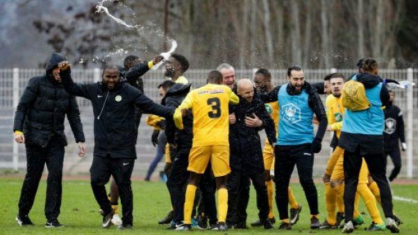 """Coupe de France: un """"cadeau"""" pour Viry après la dégringolade"""
