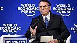 """""""La gauche ne s'imposera pas"""" en Amérique latine, assure Bolsonaro à Davos"""