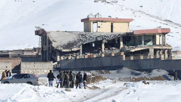 Huge attack shows Taliban strength at outset of talks
