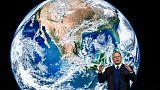 L'ancien vice-président américain Al Gore, le 22 janvier 2019 à Davos