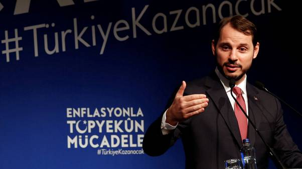 Turkish economy softening but no sign of contraction now, Finance Minister says