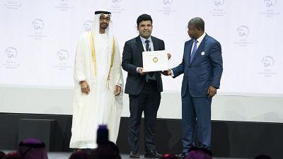 Les innovateurs africains brillent lors de la cérémonie de remise des prix 2019 du Prix Zayed pour le développement durable
