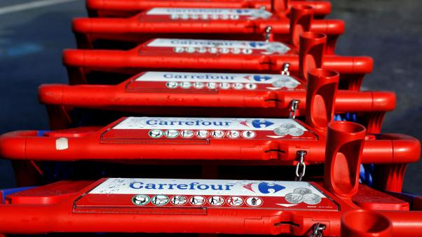 Retailer Carrefour's shares rise after fourth-quarter sales update