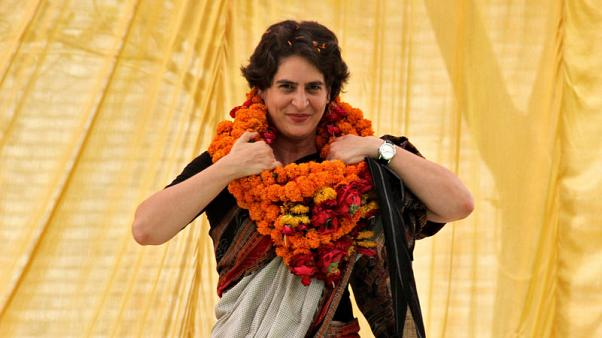 Indian opposition leader Rahul Gandhi names popular sister to party post