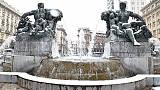 Neve a Torino, rischio strade ghiacciate