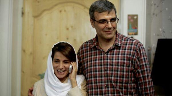 Iran: 6 ans de prison pour le mari d'une célèbre militante iranienne (avocat)