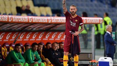 Roma: De Rossi si allena, rientro vicino