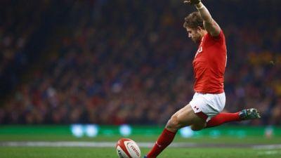 Six nations: le Gallois Halfpenny ne jouera pas contre la France