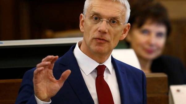 Latvian parliament backs new government under New Unity PM Karins
