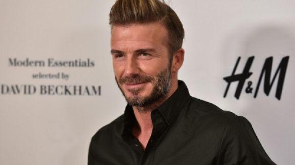 David Beckham, à Los Angeles, le 26 septembre 2016