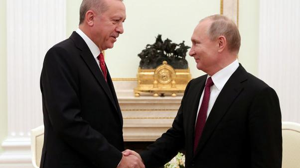 Russia and Turkey to act to stabilise Syria's Idlib province - Putin