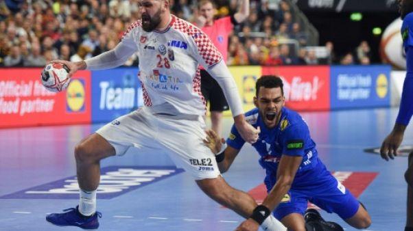 Hand: La France, battue par la Croatie, attend son adversaire en demie