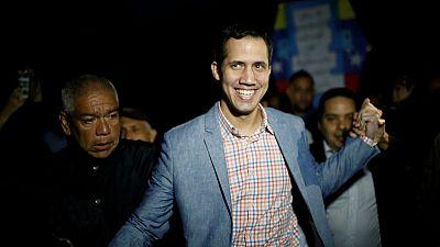 U.S. recognises opposition leader as Venezuela president, weighs oil sanctions