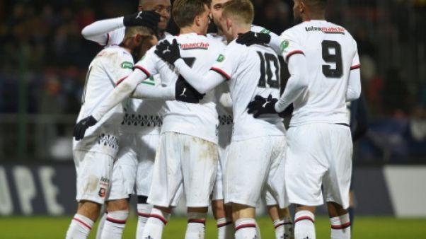 Coupe de France: Rennes en 8e avant d'affronter Paris en L1