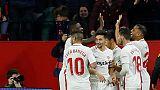 اشبيلية يهزم برشلونة حامل اللقب 2-صفر في كأس الملك