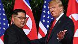 """""""Grande satisfaction"""" de Kim Jong Un après une lettre de Trump"""