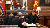 North Korea's Kim satisfied with talks ahead of second Trump summit - KCNA