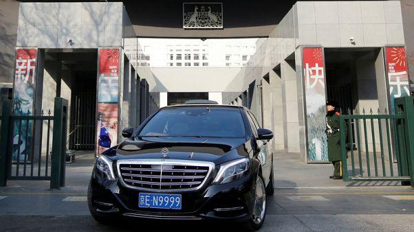 China detains Australian on suspicion of endangering security