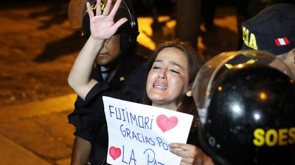 Peru's Fujimori, pardon annulled, forced back to prison