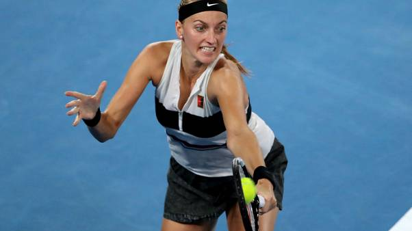 Kvitova swats aside Collins to reach first Melbourne final