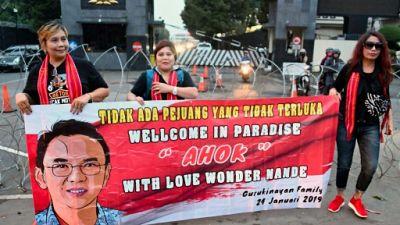 Indonésie: l'avenir incertain d'Ahok, ex-gouverneur chrétien de Jakarta sorti de prison