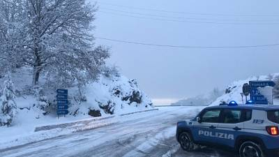 Sardegna, Neve e temperature sotto zero