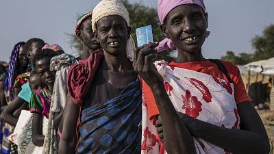 Germany helps World Food Programme (WFP) provide critical support in South Sudan