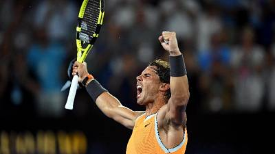 Aus Open, Nadal in finale