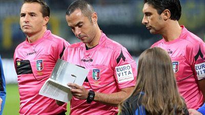 Guida arbitra Lazio-Juve