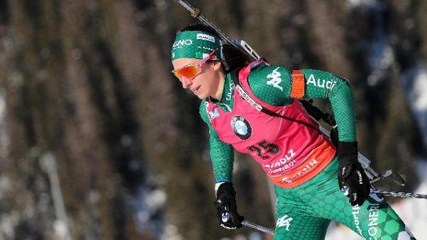 Biathlon: sprint Anterselva,Vittozzi 5/a