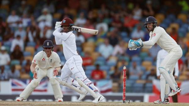 Windies in strong position after wild day two of second test