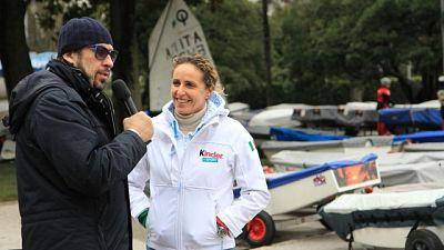 Alessandra Sensini a 'L'Uomo e il Mare'