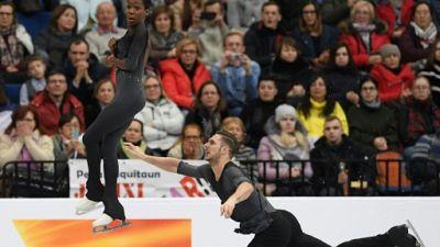 Euro: les patineurs James/Ciprès en or en couples, une première depuis 87 ans pour la France
