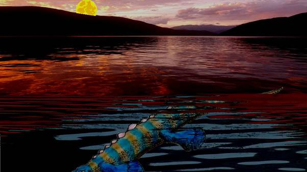 Odd duckbilled sea reptile thrived after ancient global calamity