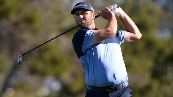 Golf - Jon rams in two eagles to lead at Torrey Pines
