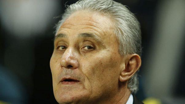 Tite stays as coach even if Brazil lose Copa - CBF head