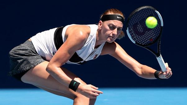 Kvitova finds killer instinct when in 'bubble' - coach Vanek