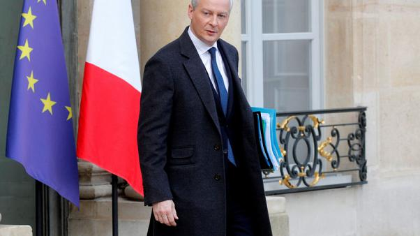 France is preparing for the worst over Brexit, finance minister says
