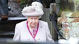 La reine Elizabeth II à Sandringham, le 25 décembre 2018